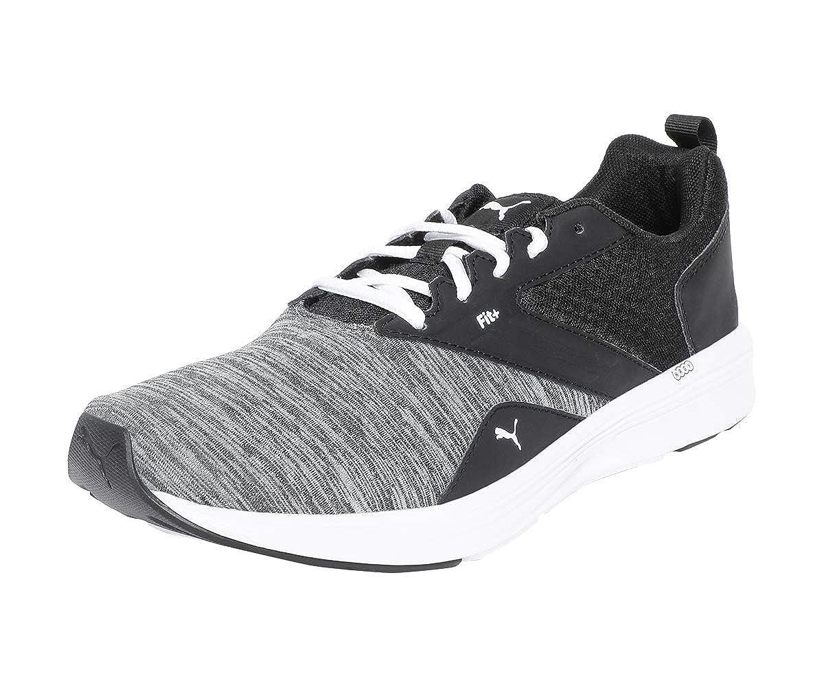 Nrgy Comet White Black Running Shoes