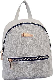 Lady Mini Backpack Fashion New 2018 Faux Leather Girls Travel Handbag School Rucksack Bag
