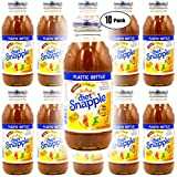 Snapple Diet Half & Half Iced Tea, 16oz Bottle (Pack of 10, Total of 160 Fl Oz)