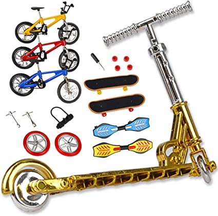Juego de juguetes para niños de bicicleta de dedo de la ...