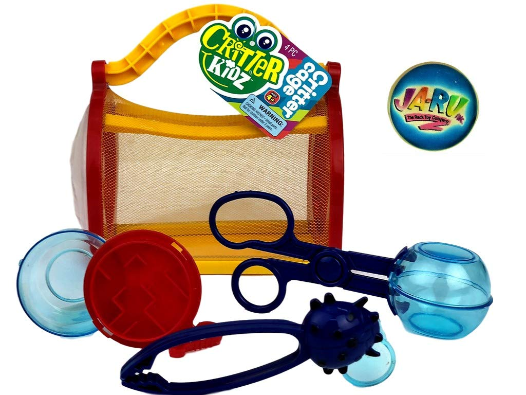 Item #5419-1 Jaru JA-RU Critter Cage for Kids Bundles with a Collectable Bouncy Ball