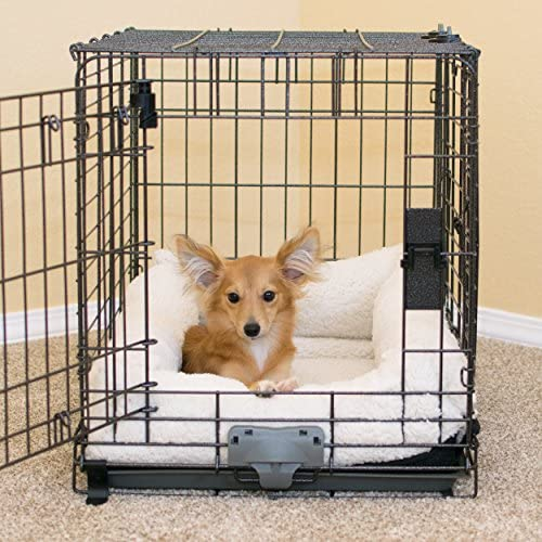 K H Pet Products Deluxe Bolster Crate Pad X-Small Natural