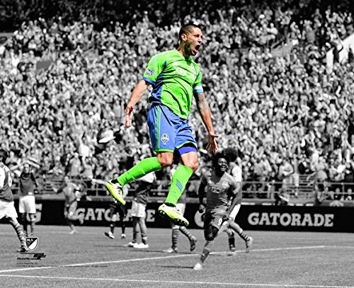 "Clint Dempsey Seattle Sounders 2014 MLS Spotlight Action Photo (Size: 8"" x 10"")"