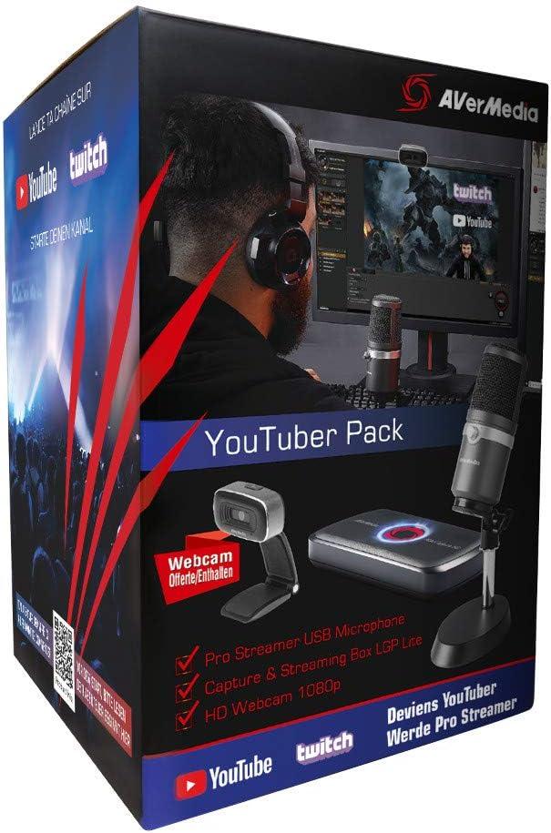 AVerMedia Youtuber Pack Dispositivo para capturar Video USB 2.0: Amazon.es: Electrónica