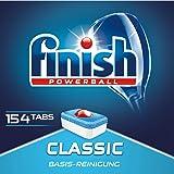 Finish Classic 经典洗碗机专用洗涤块,基础清洁 碗碟洗涤块,优惠装 154块