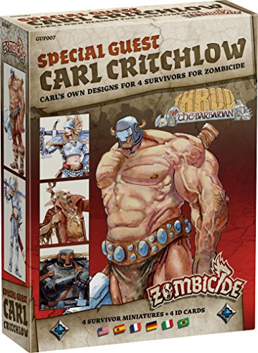 Zombicide: Black Plague Special Guest Carl Critchlow Board Game