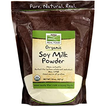 cheap Now Foods Organic Soy Milk Powder 2020