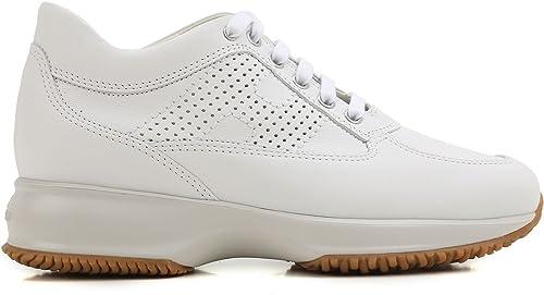 Hogan HXW00N00E30KLAB001 - Zapatillas Deportivas para Mujer, Color Blanco: Amazon.es: Zapatos y complementos
