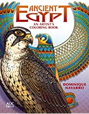 Ancient Egypt: An Artist's Coloring Book