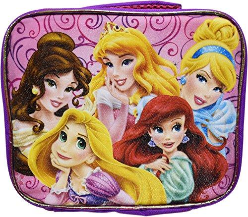 Disney Princesses Lunch Box! Sparkling - Insulated - Reusabl
