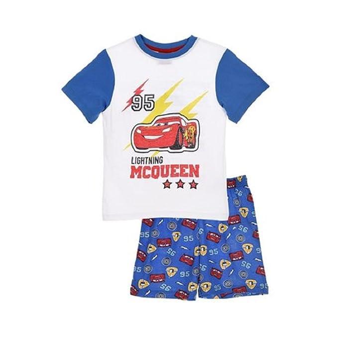molto carino 5a843 7a8f4 Disney Pigiama Bambino Cars T-Shirt e Pantaloncino in Cotone Stampato 0919