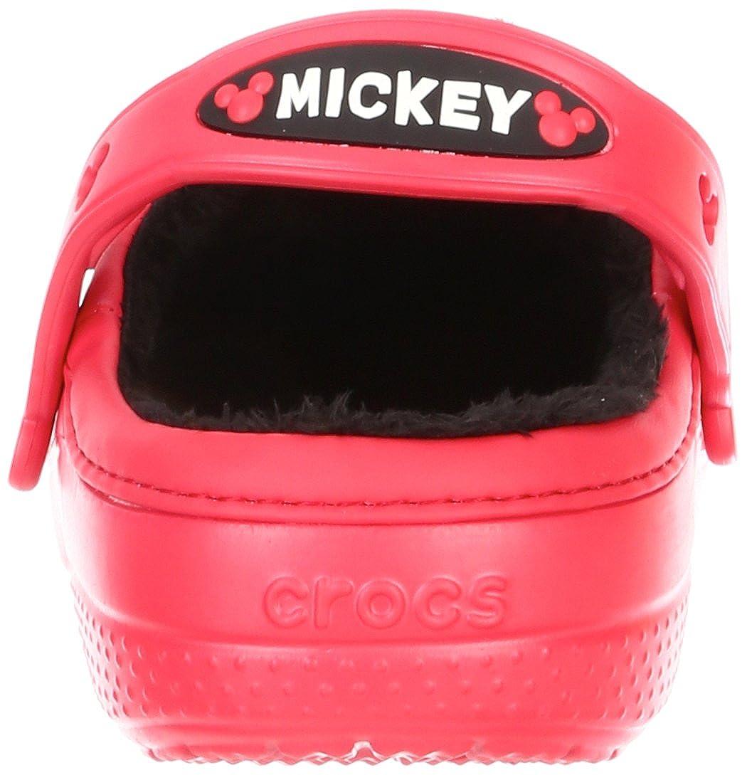 4e0e1cfd8 Crocs Kids Mickey Maus   Goofy gefüttert Pantoletten und Clogs Sandale