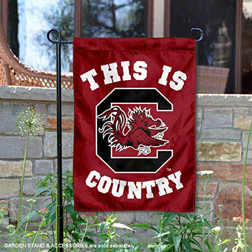 (College Flags and Banners Co. South Carolina Gamecocks This is Gamecocks Country Garden Flag)