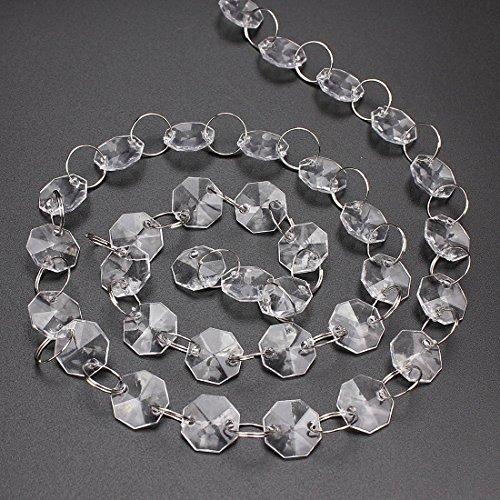 crystal acrylic gems bead - 7