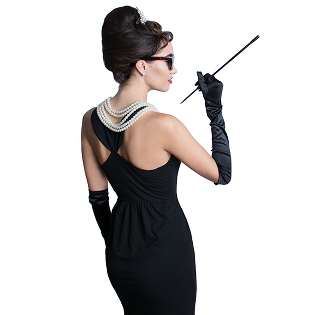 Utopiat Costume Jewelry and Accessory Set, Audrey Hepburn, Breakfast at Tiffany's by Utopiat (Image #4)