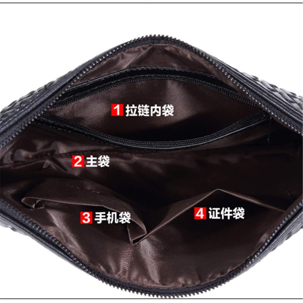 GEWEISIQI Mens briefcase womens handbags PU skin preparation Business Leisure