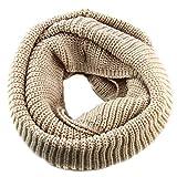 Nsstar 2014 Fashion Unisex Women Men Boys Warmer Winter Thick Knit Wool Soft Infinity Scarf Neck Long Scarf Cowl Hood Shawl