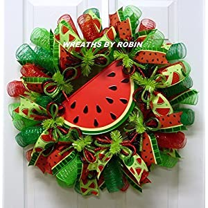Water Melon Wreath, Summer Wreaths (3491) 83