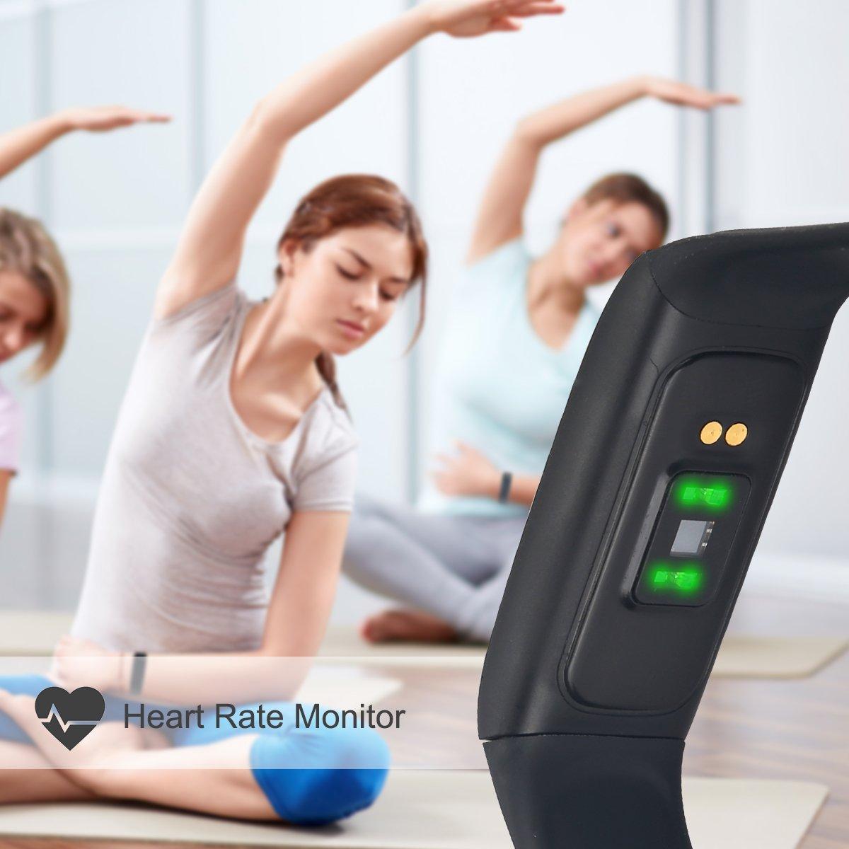 Fitness Tracker Ikustar Smart Bracelet Pedometer Heart Heartratenotesforbasiccircuittrainingjpg Rate Monitor Sleep Calorie Counter Sport Activity With Hd Oled