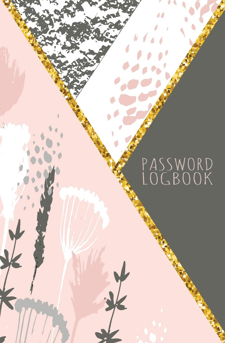 For women and girls Internet Password Logbook