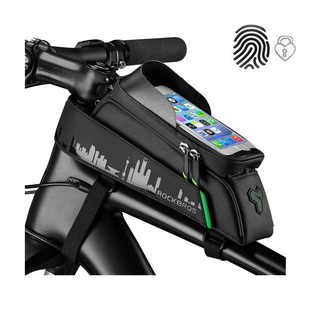 ROCKBROS Cycling Frame Bag Bike Bicycle Waterproof Touch Screen Top Tube Bag