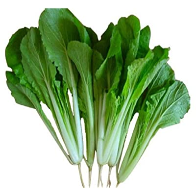 Chinese Asian Vegetable Seeds Four Season Sweet White Petiole Pak Choi Bok Choy Petiole 3000 Seeds Color Package Vegetable Bulk for Planting Chinese Cabbage Original Color Package 原装彩包白梗小白菜种子 : Garden & Outdoor