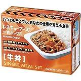 レスキューフーズ(1食ボックス)牛丼x12食セット