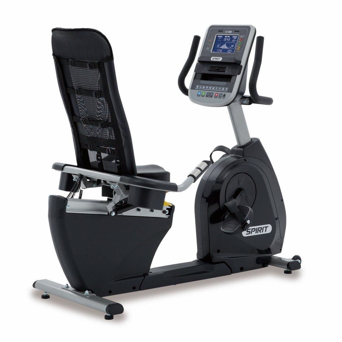 Spirit Profi Ergometer XBR 95 Sitzheimtrainer Liegeheimtrainer Fitness Trimm-Rad
