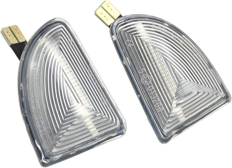 Feux Lat/éraux Indicateur Dynamiques LED Clignotant pour Smart Fortwo W451 Coupe Cabrio 2007-2014