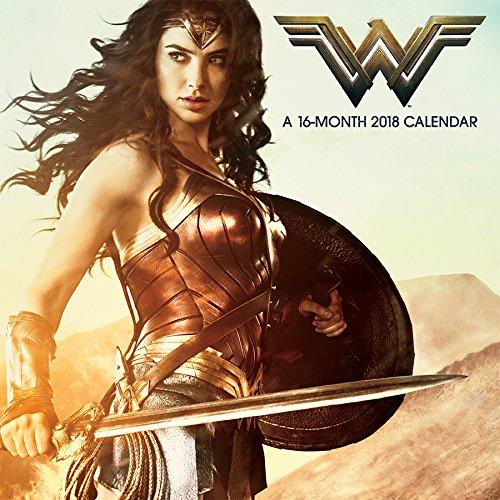 Wonder Woman (Movie) 2018 Wall Calendar