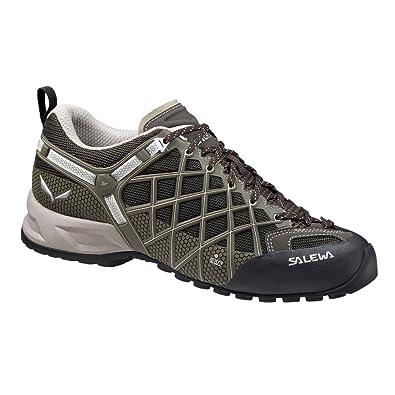 Salewa Mens Wildfire Vent Approach Shoe, Black/Juta, ...