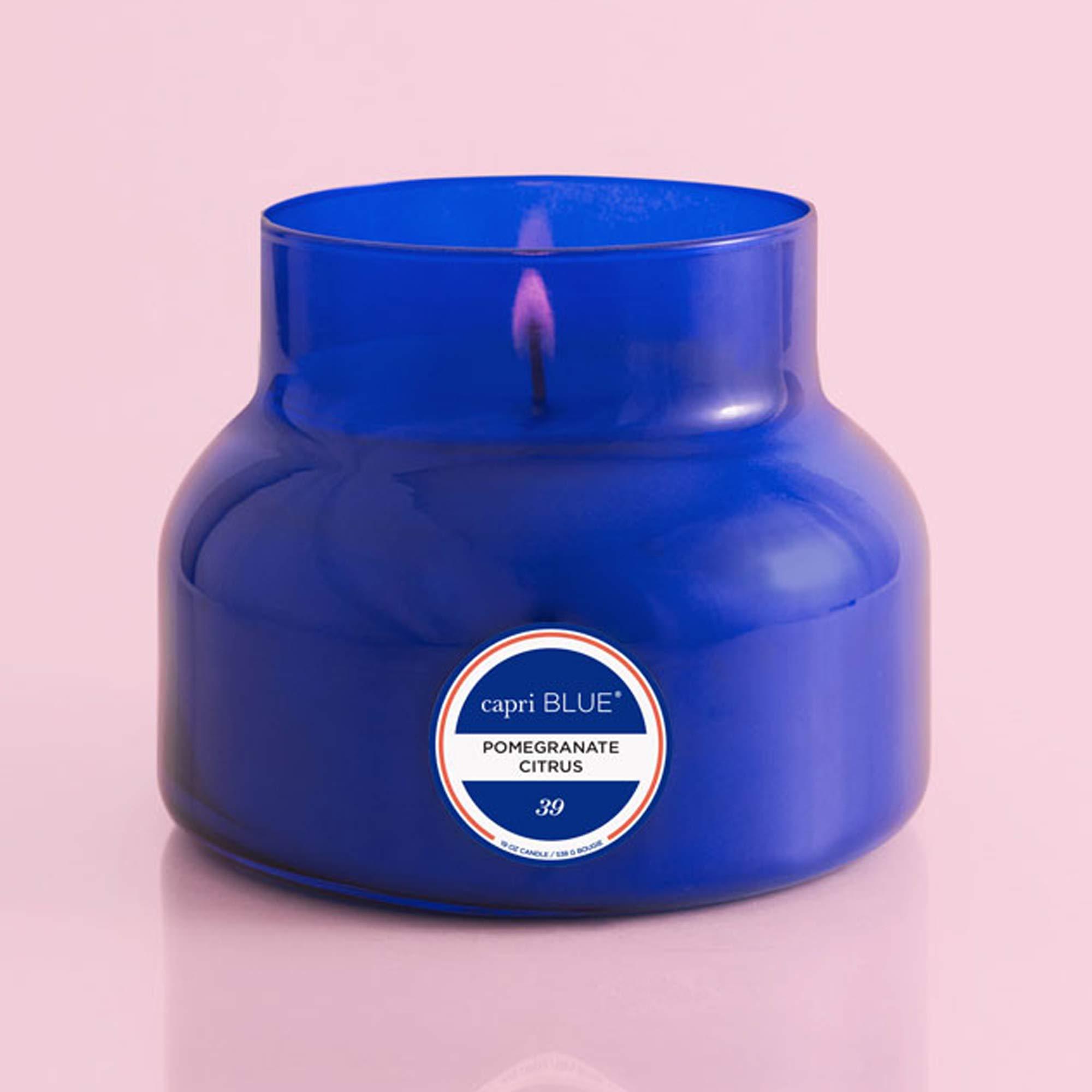Capri Blue 19 oz Signature Pomegranate Citrus Jar Candle (4 pack), Pomegranate Citrus, One Size by Capri Blue (Image #2)