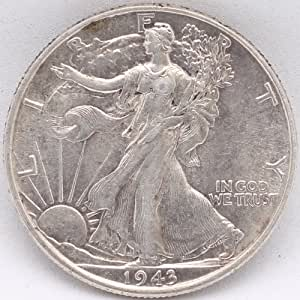 Collectible WALKING LIBERTY HALF DOLLAR 1943, United States of America