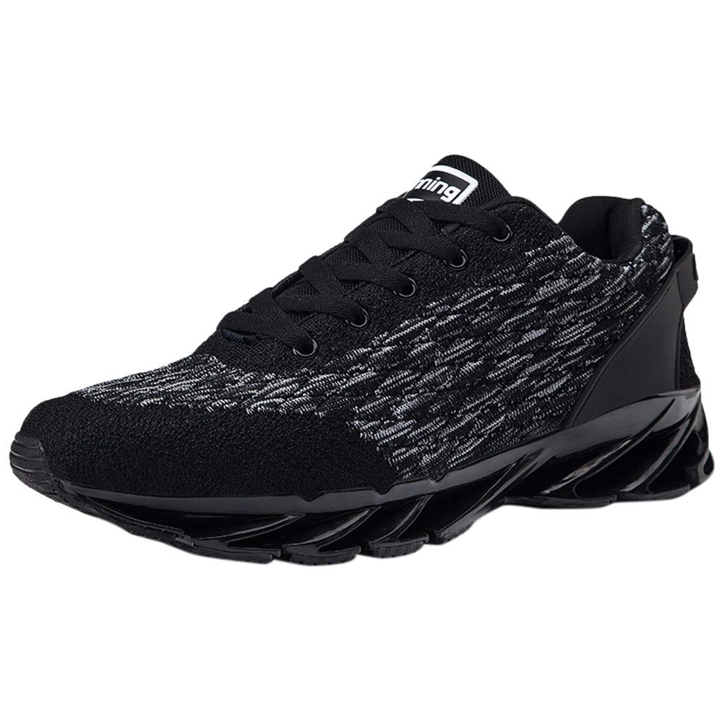CUTUDE Sneaker Herren Atmungsaktive Schuhe Turnschuhe Bequeme Sportschuhe Fitness Laufende Straße Leichte Laufschuhe Freien Freizeitschuhe