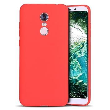 MoEvn Redmi 5 Plus Funda, Carcasa para Xiaomi 5 Plus, Case Cover TPU Suave Silicona, Slim Anti Skid Anti Rasguño Color Gel Funda para Xiaomi Redmi 5 ...