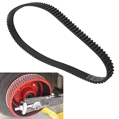 DEALPEAK 535-5m-15 Driving Belt Band Plastic Black for E-Scooter Electric Bike Accessory : Sports & Outdoors