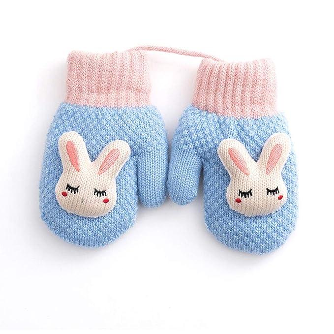 Amazon.com: Guantes de punto para bebé, lindos guantes de ...