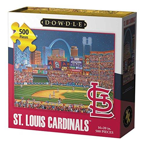 Price comparison product image Dowdle Folk Art St Louis Cardinals Jigsaw Puzzle (500 Piece)