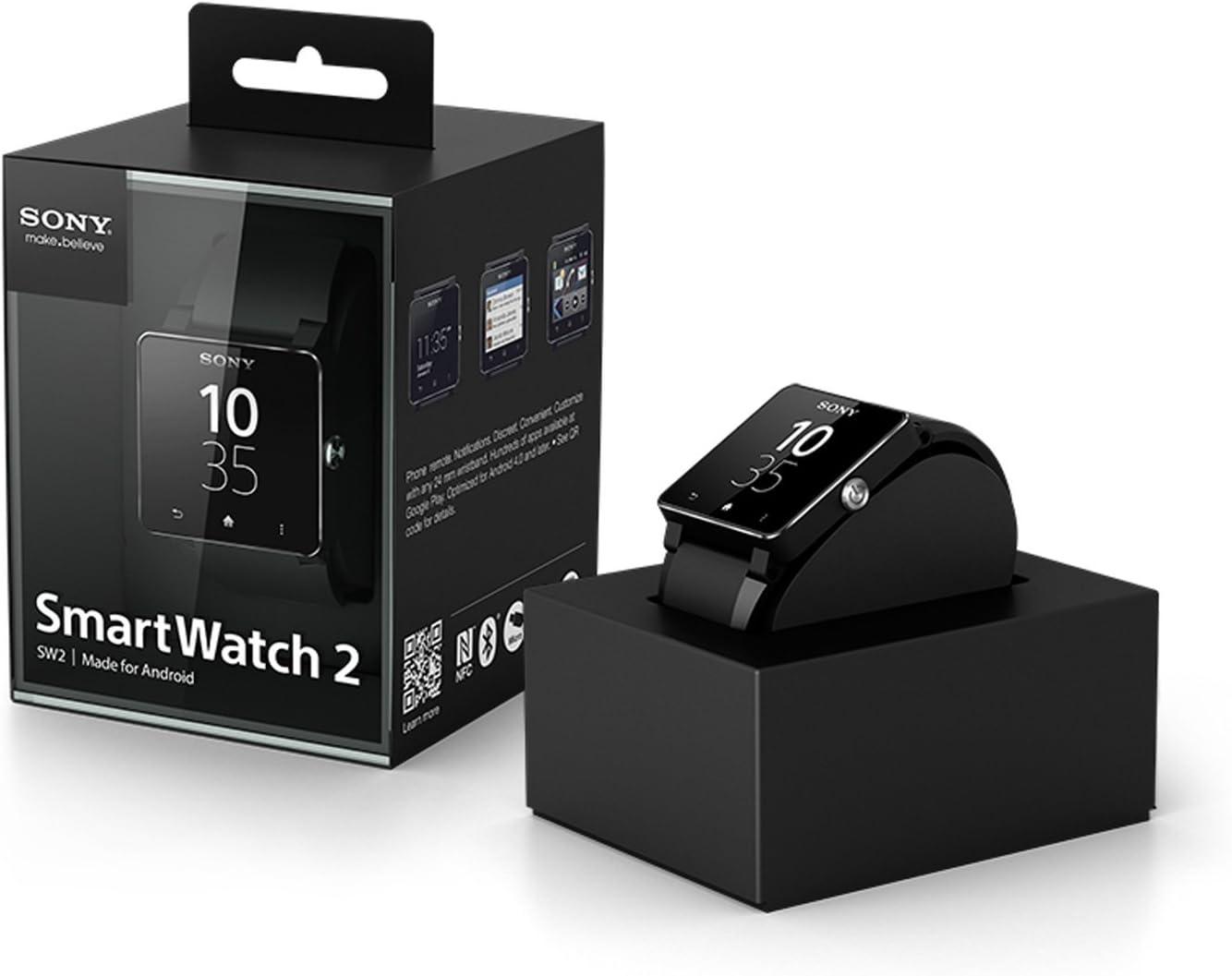 Amazon.com: Sony Mobile SW2 SmartWatch 2 by Sony® (Metal)