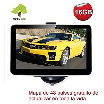 NozaTec Navegador GPS para Coche 7