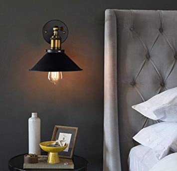 Mkjbd Linterna de Pared Lámpara de Jardín Lámpara de Pared Lámpara de Pared Vintage Aplique de