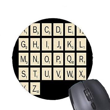 Gaming Mouse Pad Diseño Personalizado de Scrabble para computadora ...