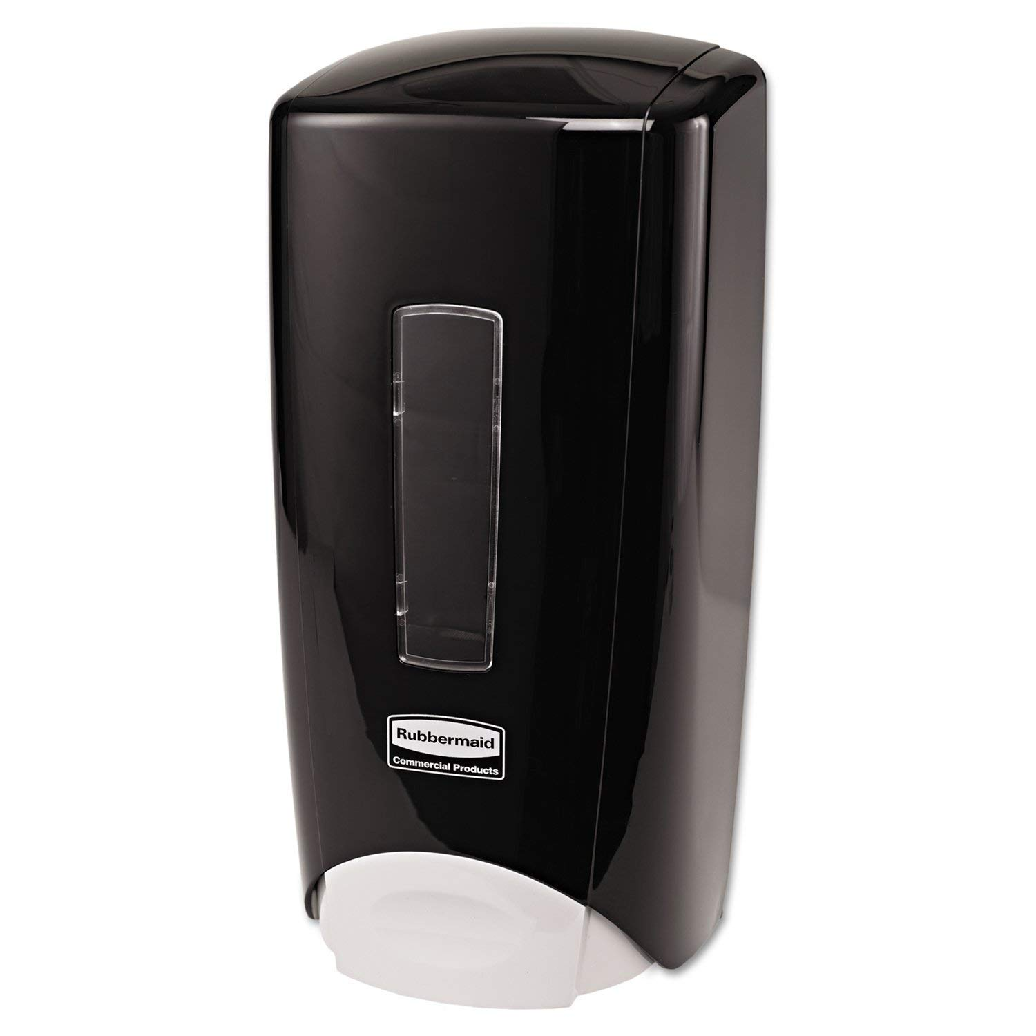Rubbermaid Commercial 3486592 Flex Wall-Mounted Manual Skin Care Dispenser, Black, 1000- to 1300 mL