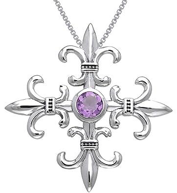 amazon jewelry trends sterling silver and amethyst croix la me Re De Janero image unavailable