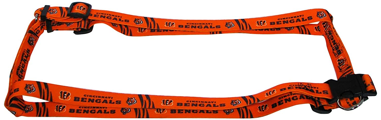 Hunter MFG 2.5cm Cincinnati Bengals Adjustable Harness, Large