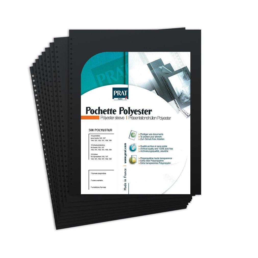 PRAT Polyester Sleeves - 508 (30 x 42cm)