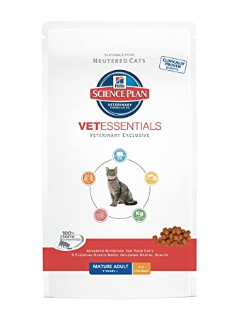 Amazon.com: Hills Prescription Diet VE felino maduro adulto ...