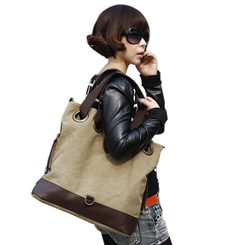 Fansela(TM) Womens Stylish Superb Casual Canvas Shoulder Handbag Crossbody Bag