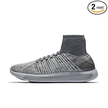 471fb7dce942e Amazon.com : Nike Men's NikeLab Lunarepic Flyknit Pale Grey/Pure ...