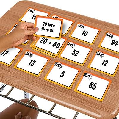EAI Education Math Stacks Number Sense & Operations Game: Grades 1-2: Toys & Games